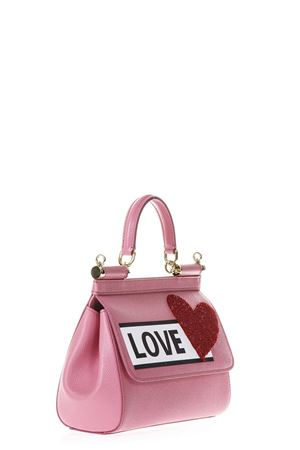 BORSA SICILY LOVE IN PELLE ROSA PE 2018 DOLCE & GABBANA | 2 | BB6003AS4998H401
