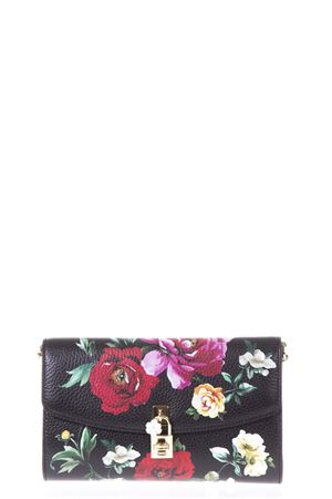 Black floral calf leather clutch SS 2018 DOLCE & GABBANA | 2 | BB6231AS176HNM62