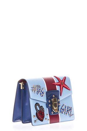 Borsa a tracolla Lucia con ricami multicolor PE2018 DOLCE & GABBANA | 2 | BB6350AH659HCO41