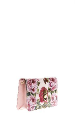 ROSE-PRINTED LUCIA CROSS-BODY BAG SS 2018 DOLCE & GABBANA | 2 | BB6358AH337HAH41