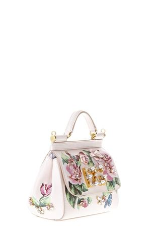 SICILY BAG IN DAUPHINE LEATHER WHIT PATCH SS 2018 DOLCE & GABBANA | 2 | BB6387AI902HAH41