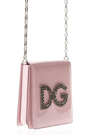 DG GIRL BLACK CROSSBODY BAG WITH CRYISTAL LOGO SS 2018 DOLCE & GABBANA | 2 | BB6533AS2558H402