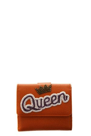 QUEEN ORANGE WALLET IN LEATHER SS 2018 DOLCE & GABBANA | 34 | BI1027AU12780244