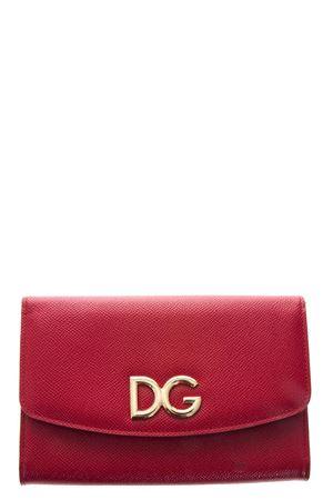 red calf leather clutch SS 2018 DOLCE & GABBANA | 34 | BI1028AH33880303