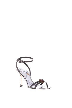 BLACK AND SILVER KEIRA SANDALS SS18 DOLCE & GABBANA | 87 | CR0552AN7808B979