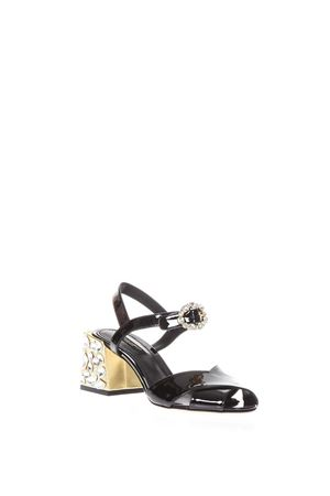 EMBELLISHED PATENT LEATHER SANDALS SS 2018 DOLCE & GABBANA | 87 | CR0605AU1938S070