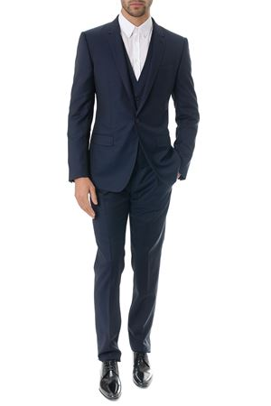BLU CLASSIC SUIT IN WOOL SS 2018 DOLCE & GABBANA | 21 | GK0UMTFM2FFB0387