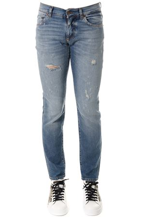 DISTRESSED JEANS MODEL IN DENIM SS 2018 DOLCE & GABBANA | 4 | GY07LDG8X98S9001