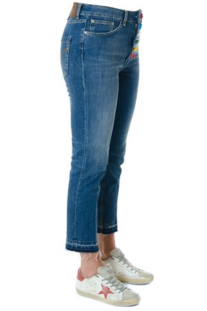 DENIM JEANS WITH DECORATIVE BOTTONS DETAIL SS 2018 DONDUP | 8 | DP268DS153DR07GKOONS800