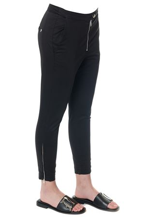 PANTALONI FAIRY IN COTONE NERO pe 2018 DONDUP | 8 | DP292RS986DPTDFAIRY999