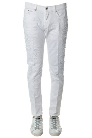 JEANS MIU IN DENIM DI COTONE BIANCO PE 2018 DONDUP | 4 | UP168BS015XVMIUS000
