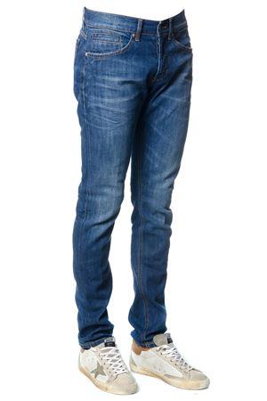Jeans George in denim di cotone blu PE 2018 DONDUP | 4 | UP232DS107US21TGEORGE800