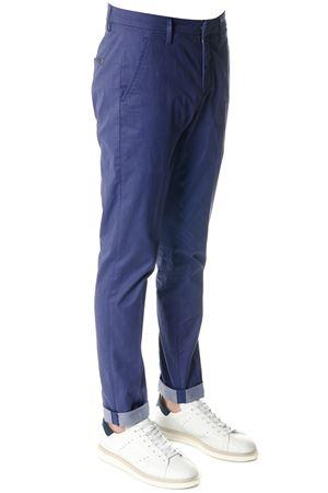 GAUBERT BLUE  COTTON PANTS SS 2018 DONDUP | 8 | UP235AS039U002GAUBERT800