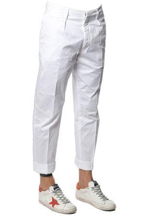 Frankie white cotton pants SS 2018 DONDUP | 8 | UP477GS021UPTDFRANKIE000