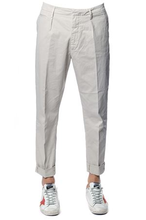 FRANKIE ICE COTTON TROUSERS SS 2018 DONDUP | 8 | UP477GS021UPTDFRANKIE020