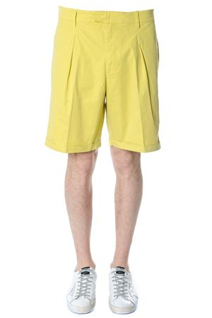 SHORT IN COTONE GIALLO PE 2018 DONDUP | 110000034 | UP480GS021UPTDIAN410
