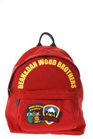 ZAINO DEAN & DAN WOOD  BROTHERS ROSSO PE 2018 DSQUARED2 | 183 | BPM0004117003974065