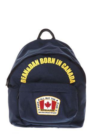 ZAINO DEAN & DAN BORN IN CANADA NAVY PE 2018 DSQUARED2 | 183 | BPM0004117004003073