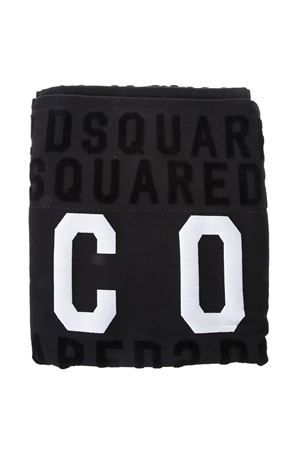 ICON BLACK COTTON BEACH TOWEL SS 2018 DSQUARED2 | 103 | D7P0017101200