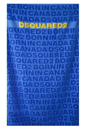 BLU LOGOED BEACH TOWEL PE 2018 DSQUARED2 | 103 | D7P0019201384