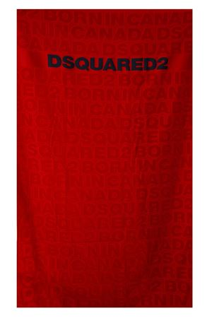 RED LOGOED BEACH TOWEL ss 2018 DSQUARED2 | 103 | D7P0019201400
