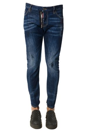 JEANS IN DENIM STRETCH BLU PE 2018 DSQUARED2 | 4 | S71LB0426S30342470