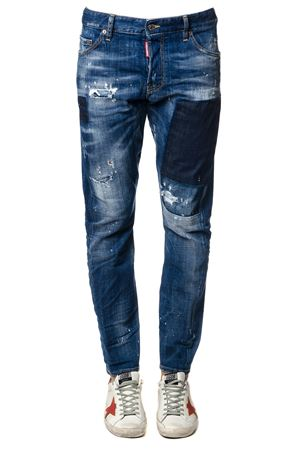 JEANS MICHAEL BUBLÈ IN DENIM BLU PE 2018 DSQUARED2 | 4 | S71LB0436S30342470