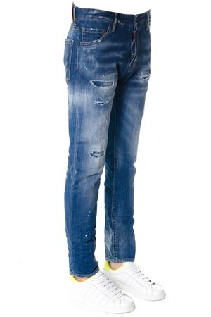 JEANS COOL GUY IN DENIM DI COTONE PE 2018 DSQUARED2 | 4 | S71LB0447S30342470