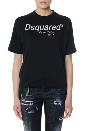 T-SHIRT  BIANCA  CATEN TWINS PE 2018 DSQUARED2 | 15 | S72GD0072S22427900