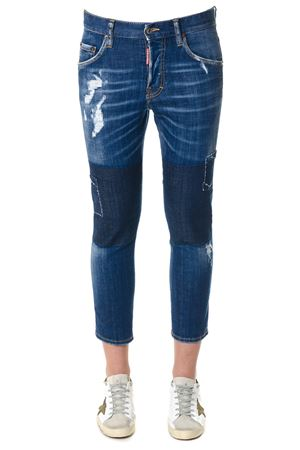 Jeans stretti in denim PE2018 DSQUARED2 | 4 | S72LB0059S30342470