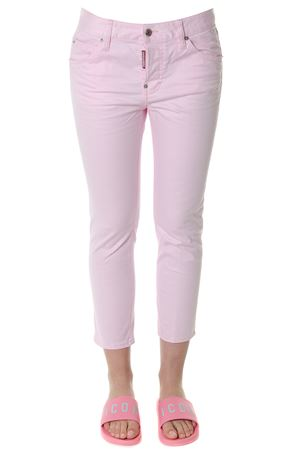 COOL GIRLS PINK CROPPED COTTON JEANS S 2018 DSQUARED2 | 4 | S72LB0089S39021387