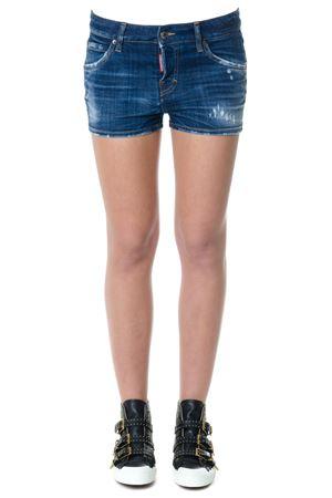 Pantaloncino in denim CINQUE TASCHE  PE2018 DSQUARED2 | 110000034 | S72MU0254S30342470