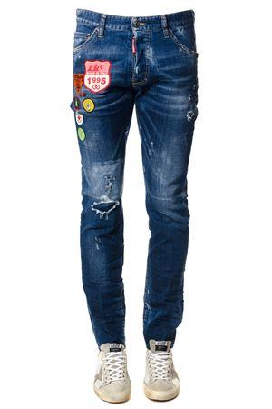 Jeans Cool Guy con patch multicolor PE 2018 DSQUARED2 | 4 | S74LB0327S30342470