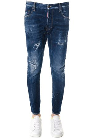 JEANS IN DENIM DI COTONE BLU TIDY BIKER PE 2018 DSQUARED2 | 4 | S74LB0375S30342470