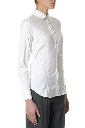 Camicia bianca in cotone PE2018 DSQUARED2 | 9 | S75DL0550S44131100