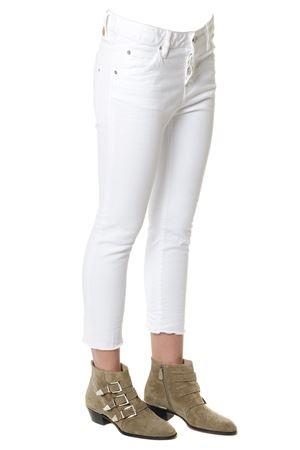White Twiggy cotton jeans SS2018 DSQUARED2 | 4 | S75LA0964S39781100