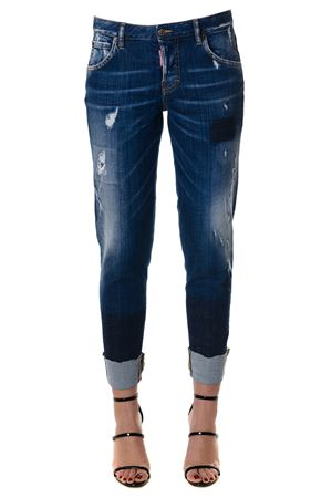 Jeans Hockney in denim PE 2018 DSQUARED2 | 4 | S75LA0984S30342470