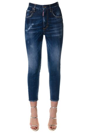Jeans Twiggy in denim di cotone PE 2018 DSQUARED2 | 4 | S75LB0006S30595470