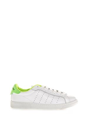 WHITE SANTA MONICA SNEAKERS IN LEATHER SS 2018 DSQUARED2 | 55 | SNM040306500286M900