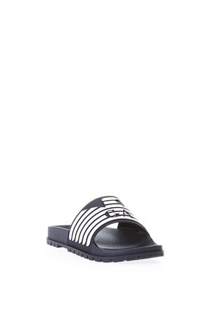 BLU BRANDED RUBBER SLIPPERS SS 2018  EMPORIO ARMANI | 87 | X4P077XL273A043