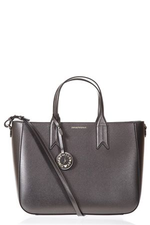 BLACK MINI DOLLAR ECOLEATHER SHOPPING BAG SS 2018 EMPORIO ARMANI | 2 | Y3D082YH15A86539