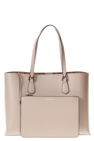 BEIGE SHOPPING BAG WITH REMOVABLE POUCH SS 2018 EMPORIO ARMANI   2   Y3D085YH19E80010