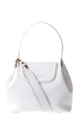 WHITE ECO LEATHER SHOULDER BAG SS 2018 EMPORIO ARMANI | 2 | Y3E082YH24A81198