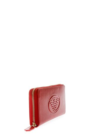 RED FRIDA FAUX LEATHER WALLET SS 2018 EMPORIO ARMANI | 34 | Y3H114YH18A80003