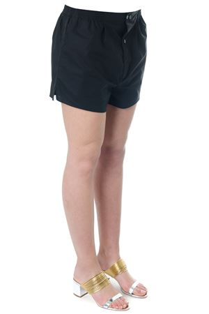 BLACK COTTON SHORTS SS 2018 FAITH CONNEXION | 110000034 | W1510T000261001