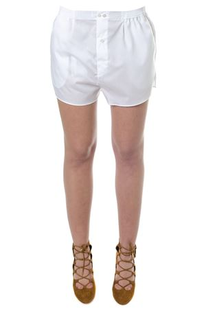 WHITE COTTON SHORTS SS 2018 FAITH CONNEXION | 110000034 | W1510T000261100