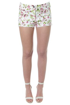 FLORAL PRINT MULTICOLOR COTTON SHORTS SS 2018 FAITH CONNEXION | 110000034 | W1515T000471711