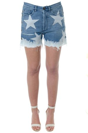 COTTON DENIM SHORTS WITH STARS SS 2018 FAITH CONNEXION | 110000034 | X5582D006021660