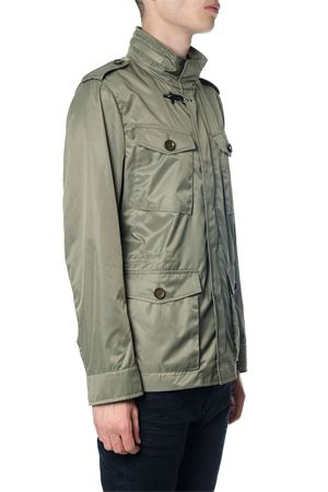 MILITARY GREEN FABRIC DOWN JACKET SS 2018 FAY | 27 | NAM06360240PGRV609