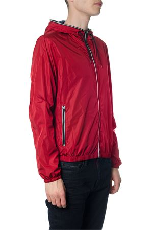 RED NYLON HOODED DOWN JACKET SS 2018 FAY   27   NAM12360490PFWR602